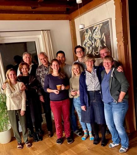 Teilnehmer des Essens in der Hölzliburg vom 9.11.2019